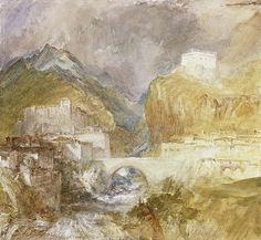 Vèrres in the Val d'Aosta, Joseph Mallord William Turner