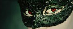 Beautiful mask details & Sharingan eyes