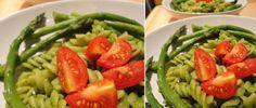 Tallarin Verde (Pasta Noodles in Green Sauce)