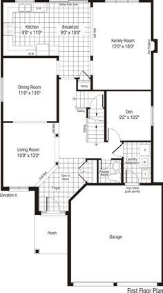 Monarch canterbury model home