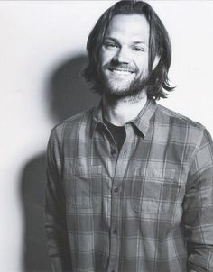 Jared in B&W <3 btw this is gilmore girls fandom not supernatural