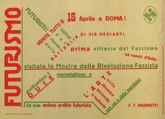 Filippo Tommaso Marinetti. Futurismo. 1932 by kitchener.lord, via Flickr