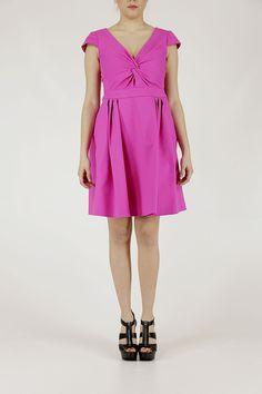 Armani collezione donna P/E14 donna vestito abito rosa