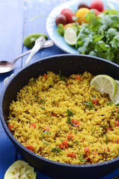 Turmeric Coconut Rice