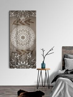 Family Wall Art, Home Wall Art, Stay Wild Moon Child, Lotus Art, Room Decor, Wall Decor, Diy Frame, Mandala Art, Canvas Frame