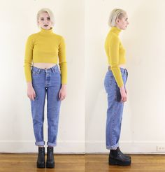 Dark Wash Early 90s Mom Jeans Express Blues Vintage by ACTUALTEEN