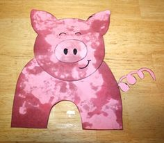 Kids will have a ball making this dirty pig craft. Children will love blowing bubbles as part of making this pig dirty! Farm Animal Crafts, Pig Crafts, Farm Crafts, Preschool Crafts, Farm Animals, Preschool Curriculum, Crafts To Make And Sell, Crafts For Kids, Farm Activities