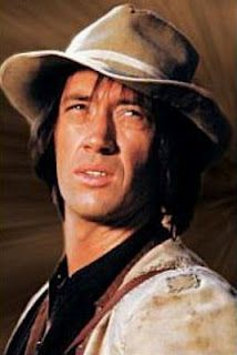 """David Carradine as """"Kung Fu"""" (1972-1975) - I used to watch this show as a girl. I saw him in a bar in Mississauga, Ontario, Canada in the early 90s."""
