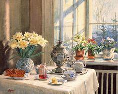 .О́льга Алекса́ндровна Рома́нова . Painting by Tsar Nicholas II's sister Olga…