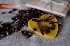 Купить Флорентийское саше Кофейное мороженое - желтый, охра, флорентийское саше, ароматическое саше, саше