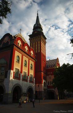 City Hall, Subotica, Serbia Copyright: Marton Ocskay
