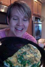 Quick Kale Eggs [video]