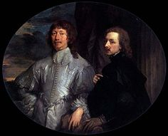 Anthony van Dyck, Endymion Porter and Van Dyck Anthony Van Dyck, Sir Anthony, European Paintings, Classic Paintings, Anton Van, Mustache And Goatee, Courtier, Original Paintings For Sale, Dutch Golden Age