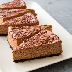 cook's country  Milk Chocolate Cheesecake (also  find Cook Country Swiss Hazelnut Cake)