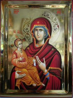 Mama Mary, Madonna And Child, Blessed Virgin Mary, Orthodox Icons, Mother Mary, Jesus Christ, Christianity, Art For Kids, Catholic