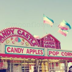 Candy Apples 6x6 on 8x10 Photograph Whimsical by moonflowers, $22.00