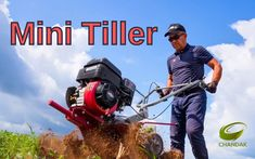 mini tillers are basically preferred for tiny land holding farmers for their agricultural works like puddling and preparatory tillage. mini tillers are very useful for rice and paddy farmers Chandak agro is one of the leading Manufacturer and supplier of agricultural products in India. We Manufacture high end premium product at an affordable cost. To know more about our products please visit #MiniTiller Mini Tiller, Power Sprayer, Spray Hose, Car Washer, Cost Saving, Rotary, Farmers, Outdoor Power Equipment, Engineering