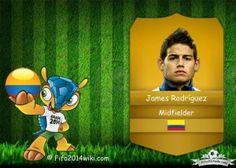 James Rodríguez - Colombia Player - FIFA 2014