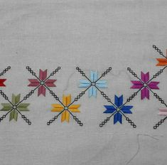 This Pin was discovered by Son Embroidery On Kurtis, Kurti Embroidery Design, Embroidery Sampler, Wool Embroidery, Learn Embroidery, Embroidery For Beginners, Cross Stitch Embroidery, Embroidery Patterns, Machine Embroidery