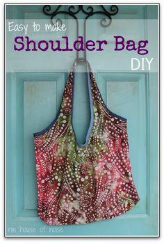 shoulder bag - diy diy