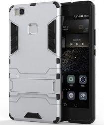 Hybride Huawei P9 Lite Hoesje Zilver