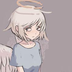 Kawaii Anime Girl, Anime Art Girl, Cute Anime Character, Character Art, Arte Do Kawaii, 8bit Art, Digital Art Anime, Cute Anime Coupes, Drawing Expressions