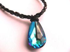 H20 Just Add Water Necklace Mermaid Cleo Swarvoski Crystal | eBay