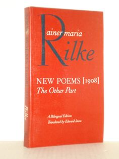 New Poems, 1908 The Other Part by Rainer Maria Rilke, Classic Literature and Poetry, New and Used Books