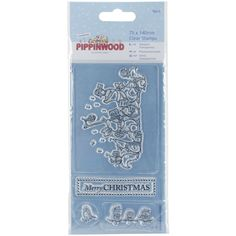 Papermania Pippinwood Mini Clear Stamps - Christmas Singing