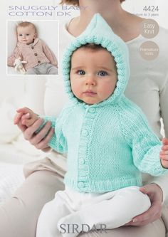 Pattern #4424 – Snuggly Baby Cotton DK
