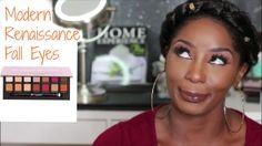 Fall Makeup   Modern Renaissance Palette   dark skin  Trice Tyme  2016