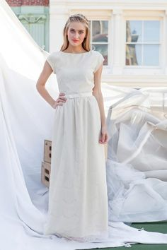 Cream Alice Maxi Dress from the Bridesmaid Collection by Shabby Apple