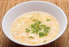 Crema de maíz con pollo china /corn & chicken chinese soup --recipe/receta --> http://ruidoblanco.me/?p=216