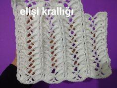 Son zamanlarda gördüğüm en gösterişli tığ işi örgü modellerinden biri olan kardeş kuşağı şal modelini sizlerde zorlanmadan örün diye karşınızdayız. Özellikle dikdörtgen şal örneğine çok yakışan kabartmalı örgü. Yelek modellerine de çok yakışacak, alt kısmı şekilli dilim dilim olan bir örnek. Model 14 zincir üzerine Cute Crochet, Crochet Baby, Moda Emo, Weaving, Vest, Knitting, Blog, Piercings, Design