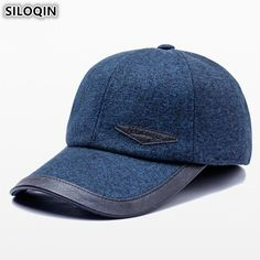 SILOQIN Winter Men s Earmuffs Hat Warm Baseball Caps For Men 2018 New Style  Snapback Cap Male Bone Adjustable Size Brands Hats. Yesterday s price  US   16.20 ... 951762df5d99