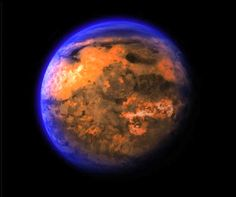 planet 55: The alien planet 55 Cancri e orbits extremely close to its parent star. A new look at the exotic world suggests that the rocky world might not be a scorching hot wasteland, as was previously thought. Credit: Nasa