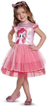 PartyBell.com - My Little Pony: Pinkie Pie Classic Toddler Costume