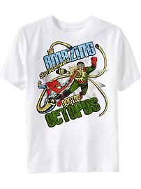 Boys Marvel Amazing Spiderman tee