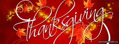Thanksgiving Facebook Cover