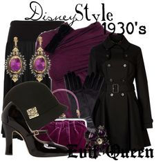 """""""Disney Style : Evil Queen"""" by missm26 on Polyvore"""