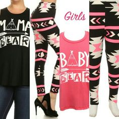 Today's outfit is a mommy and me! We all know well love to dress our little ones like us and with the mommy and me collection by du north designs you can find that perfect look for you and your little one! I really love these leggings and mama bear and baby bear tops you can find yours on my site. https://dunorthdesigns.com/darling/joshanah0815 #dunorthdarlingdesigns #dunorthdarlingontario #dunorthdesignsbyshanah #dunorthdesigns #fashion #mommyandme #matching #leggings #findyouroutfittoday
