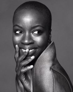 See The Walking Dead's Danai Gurira Getting Glamorous for Our October Issue! - Alexander Wang from #InStyle