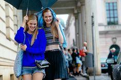 #StreetStyle at Berlin Fashion Week. Todo depende de una imagen y actitud positiva.