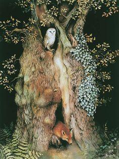 """""""A árvore se conhece pelos frutos."""" (Ilustração: Valerie Greeley)"""