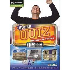 Jeu PC Super Quizz Histoire de France (NEUF)