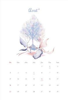 2013 calendar August/Aout
