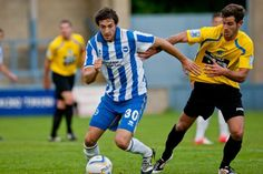 Twitter / BHASnappy: Dorchester 0 #BHAFC 3 Will Buckley surges forward with the ball