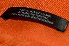 Der Kaschmir Pashmina Unterschied
