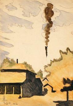 Charles Burchfield - Untitled - 1916