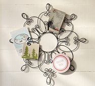pretty, pottery barn Snowflake Card Holder